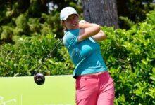 La amateur Miriam Ayora, mejor española en el Santander Golf Tour LETAS Zaragoza tras 36 hoyos