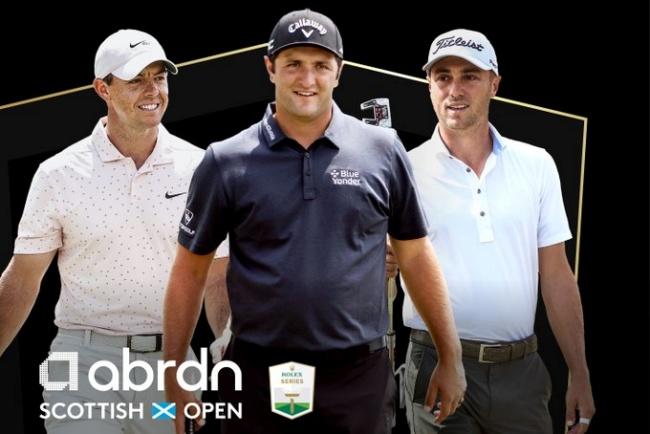 Rory, Jon Rahm, Justin Thomas, European Tour, Scottish Open, The Renaissance,