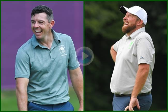 Irlanda, con McIlroy y Lowry, quiere el oro del golf en Tokio. Golpes como estos así lo acreditan