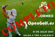 OpenGolf vuelve a poner el cartel de completo en su X Torneo. La lista de espera se abrió el martes