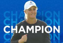 Nordqvist se lleva el Women's Open en un final apasionante que se decidió en el último hoyo