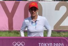 Azahara, 7ª con -2 en Tokio: «Me encanta jugar por mi país». La malagueña a 2 golpes de las medallas
