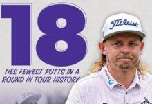 ¡¡18 putts en 18 hoyos!! Cameron Smith igualó el record en el PGA. Así fue su vuelta en el St. Jude