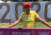 Carlota Ciganda, T29 en Tokio: «Me gustaría estar más arriba. Mañana intentaré hacer pocas»