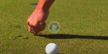 ¿Qué daños se pueden reparar en el green mientras jugamos? En este vídeo se explica claramente