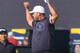 Vea y disfrute de los mejores golpes en The Open desde fuera de green. Todo un festival de golf