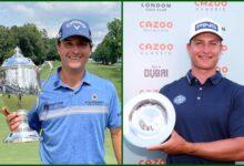 Así se repartieron los premios en el Wyndham Champ. (PGA, $6,4 Mill.) y en el Cazoo (ET, €1,25)