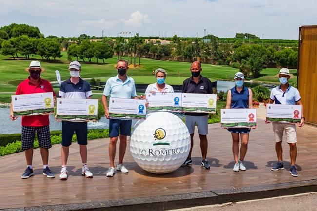 Lo Romero Golf recauda 10.000 euros en el Torneo XXXV Aniversario Segregación Pilar de la Horadada