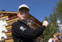 ¡Vaya eagle de Miguel Ángel Jiménez (57 años) en Suiza! Cazó el green desde 286 yardas (262 metros)