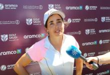 María Hernández es quinta en el comienzo del Aramco Team Series que se celebra en La Reserva