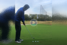 Alvaro Rumbo y su mágico tributo al golf Español en la Ryder Cup con cuatro chips consecutivos!!!