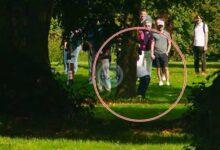 Este golpazo de entre los árboles fue clave para el triunfo de Ángel Hidalgo en el German Challenge