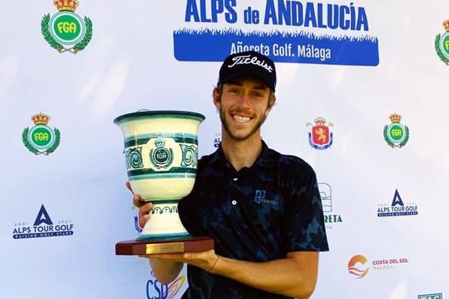 Gerard Piris y Marcos Pastor se suben al podio en el Alps de Andalucía en el triunfo de Edgar Catherine