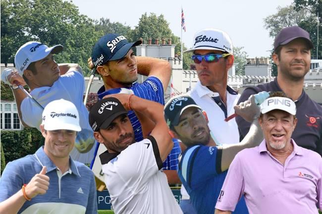 Españoles en el BMW PGA Championship Wentworth