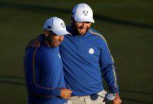 ¡Sergio y Jon dan a Europa el primer punto de la Ryder! Los españoles, soberbios en el debut