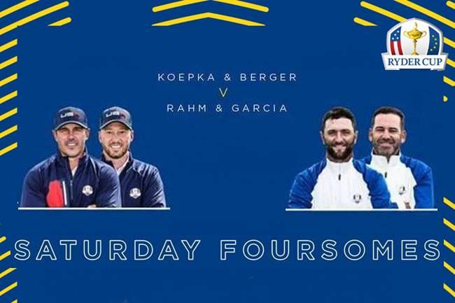 Foursomes Ryder Cup dia 2
