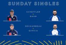 ¡Partidazos a la vista en los individuales! Sergio vs DeChambeau y Rahm vs Scheffler (Ver HORARIOS)