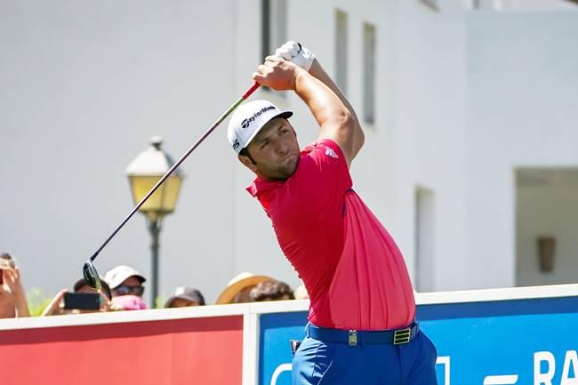 Rahm, en pos de la gloria en el Andalucía Masters. Quiere ser el segundo español en ganar el torneo