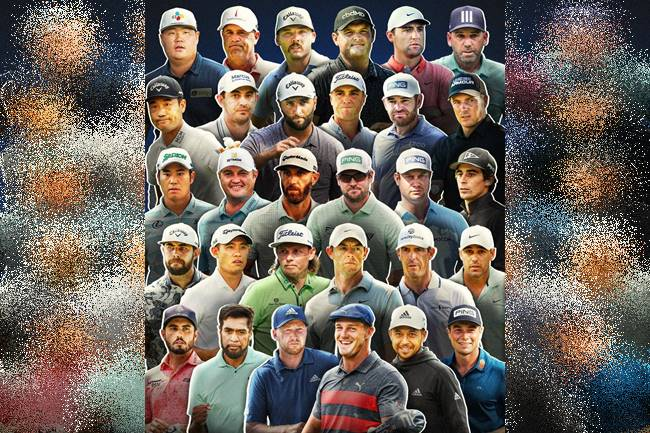 Jugadores Tour Championship 2021