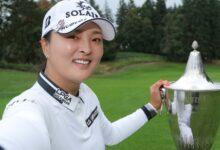 Una ronda final sobre par aleja a Carlota de un triunfo que lo apunta la coreana Jin Young Ko