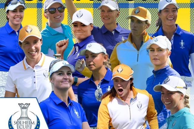LPGA, LET, Solheim Cup, Inverness Club,