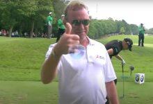 Jiménez se convirtió en el golfista con más Hoyos en Uno en el ET (10) con este golpazo en Wentworth