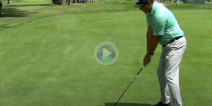 Estos fueron los mejores golpes desde la calle con el driver del curso finalizado en el PGA Tour