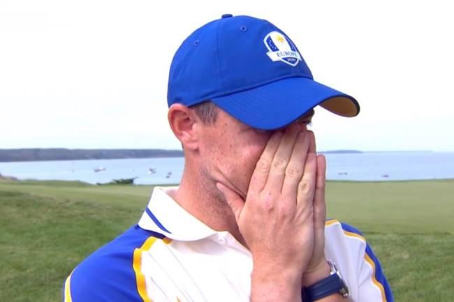 McIlroy rompió a llorar tras vencer a Schauffele. «Debería haber hecho más por ellos esta semana»