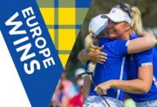 Europa aguanta las embestidas del Team USA y mantiene la diferencia tras los fourballs (2,5-5,5)