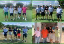 Alenda acogió el XVII Torneo Uva Embolsada del Vinalopó. Tomaron parte más de 100 golfistas