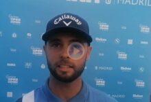 Adri Arnaus, 2º en el Open de España: «Con este público pegas un mal golpe y hasta te sientes bien»