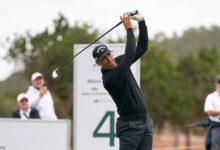 La Armada se agolpa en la zona alta del Mallorca Golf Open con Quirós, Sebas y Campillo en el podio