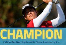 Luna Sobrón (T50) acaba el ShopRite con una ronda por debajo de los 70 en el triunfo de Boutier