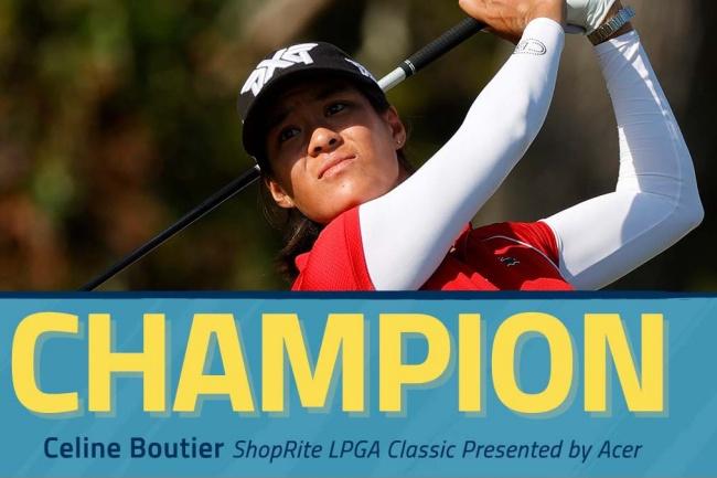 Celine Boutier, Seaview, LPGA, ShopRite,