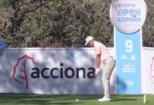 ¡Qué disparo! Grant Forrest se anotó el primer Hoyo en Uno del Acciona Open de España 2021