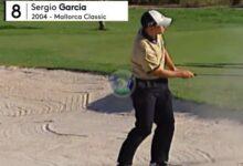 Sergio García, protagonista de los mejores golpes de toda la historia del European Tour en Mallorca