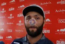 Jon Rahm: «Estoy aquí para ayudar al golf español». El número uno se despidió tras no pasar el corte