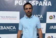 Juan Salama sigue intocable en el ABANCA XXXIII Campeonato de la PGA de España pese al vendaval