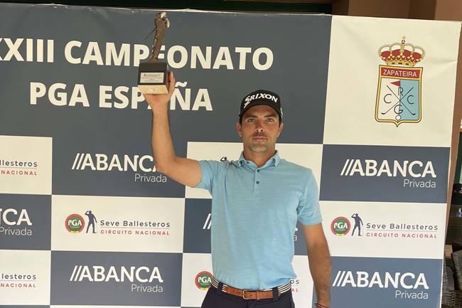 Juan Salama se impone en el XXXIII Campeonato de la PGA de España celebrado en el RCG La Coruña