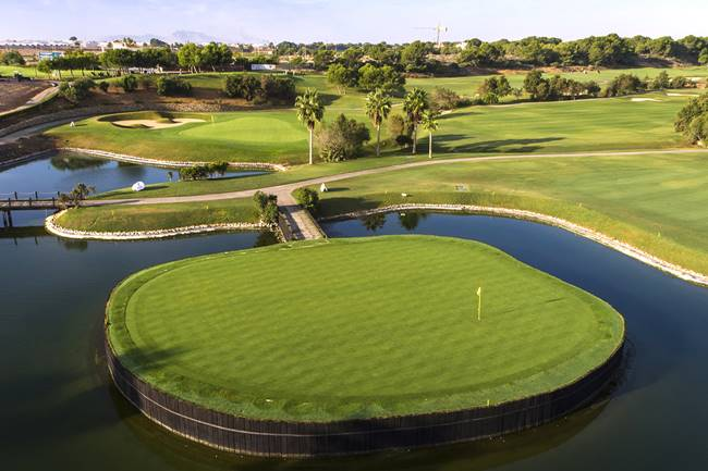 Lo Romero Golf isla aérea 2