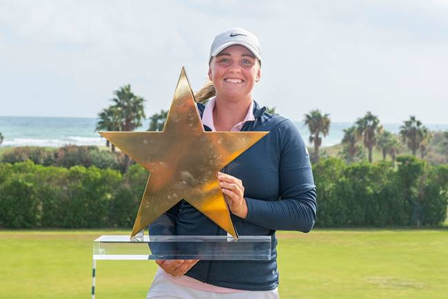 Maja Stark campeona en el Estrella Damm Ladies Open