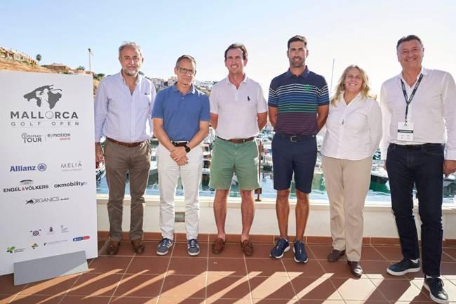 Álvaro Quirós y Gonzalo Fernández-Castaño dan el pistoletazo de salida al Mallorca Golf Open