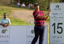 Nacho Elvira se quedó a unos centímetros de lograr el primer Hoyo en Uno de la semana en Mallorca