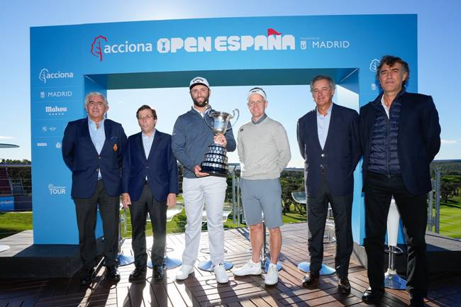 Presentación Open de España 2021