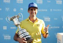 Rafa Cabrera entra en la historia del Open de España al vencer a Adri Arnaus en el PlayOff