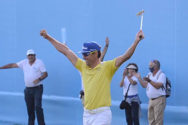 Rafa Cabrera Bello campeón Open de España reparto de premios Foto Fernando Molina